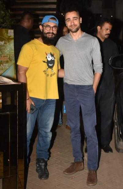 Aamir Khan and Imran Khan