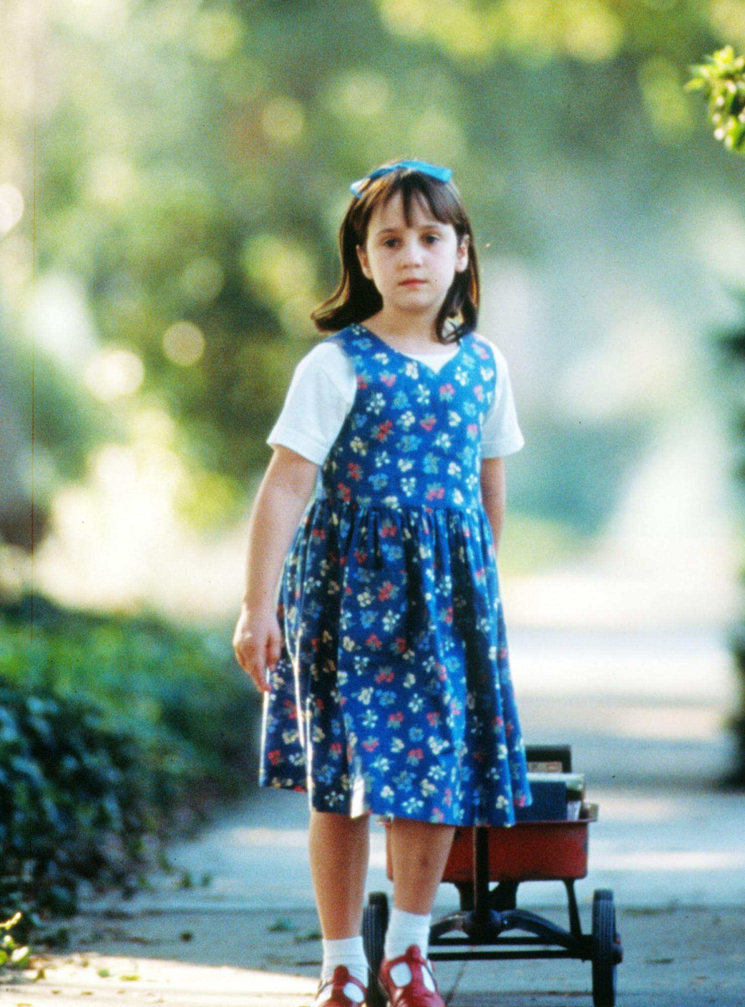 Mara Wilson in and as Matilda