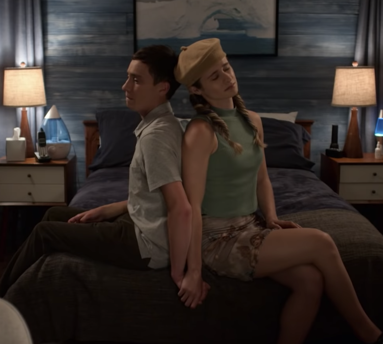 Keir Gilchrist and Jenna Boyd in Netflix's Atypical