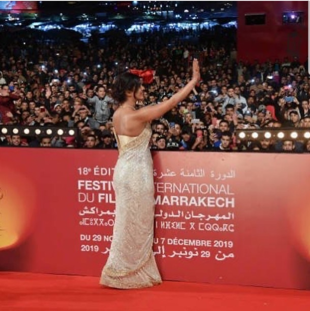 Priyanka Chopra Honoured at the Marrakech International Film Festival