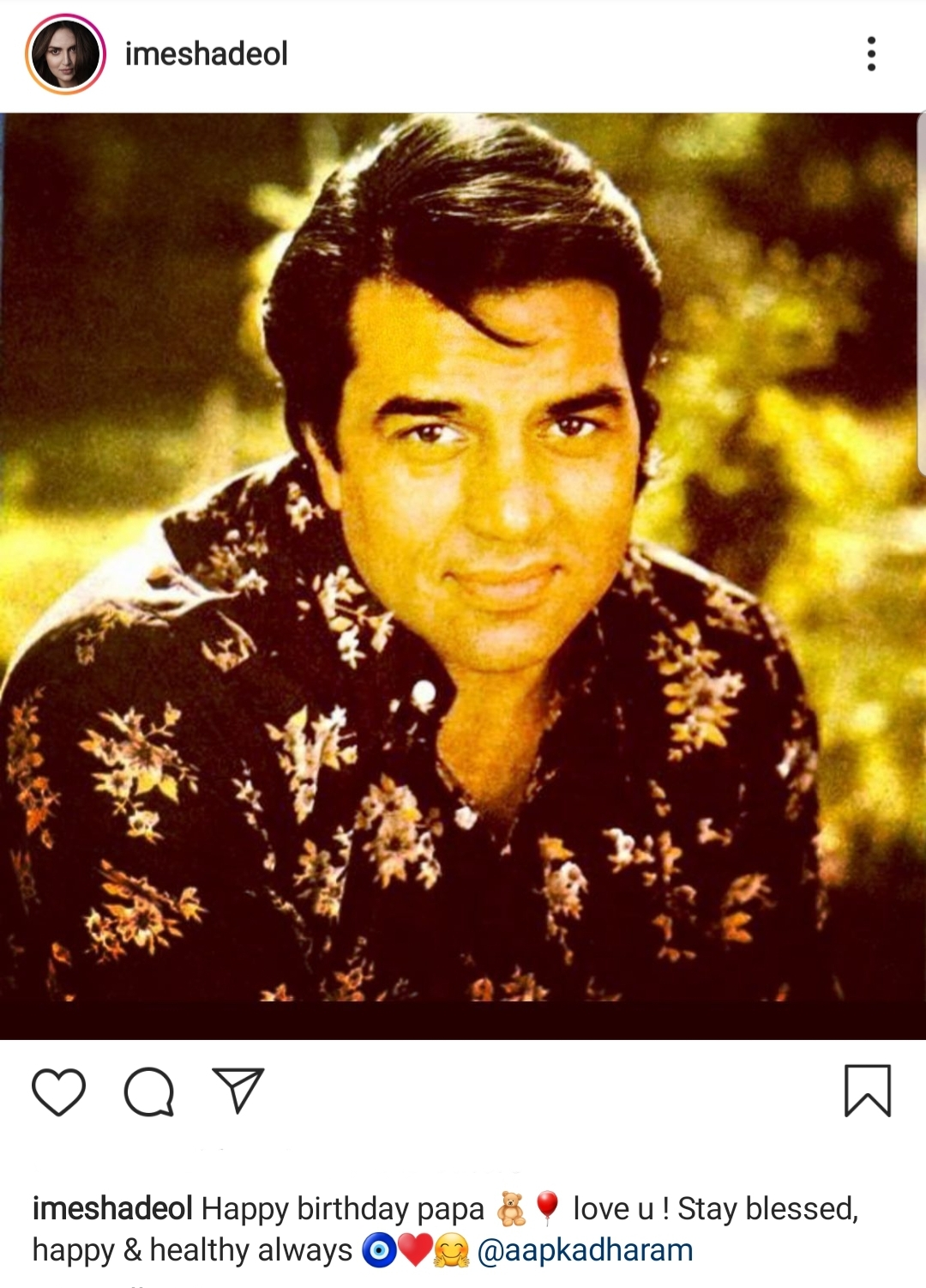 Dharmendra Turns 84 Years Young Today