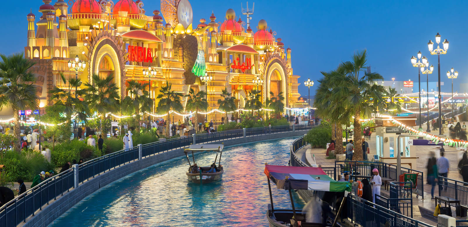 Instagrammable Places in Dubai - Global Village