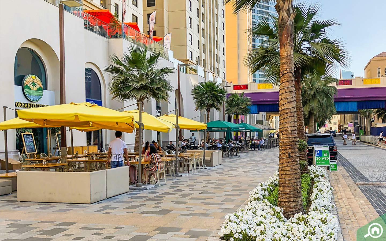 Instagrammable Places in Dubai - JBR