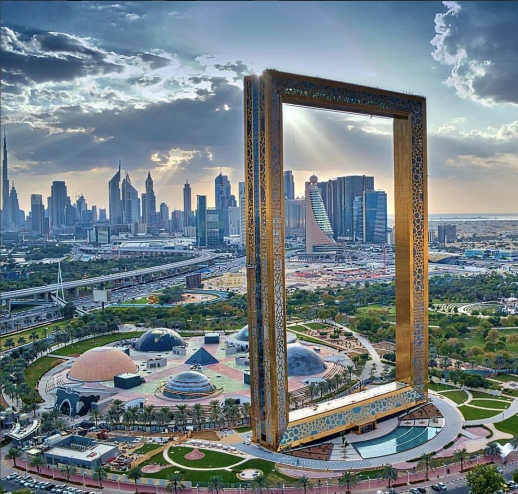 Instagrammable Places in Dubai - The Dubai Frame