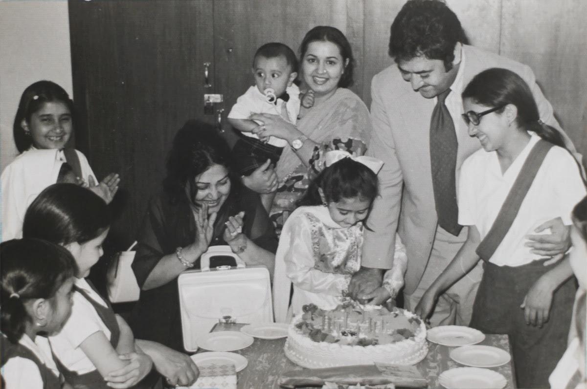 Noor Jahan with her children