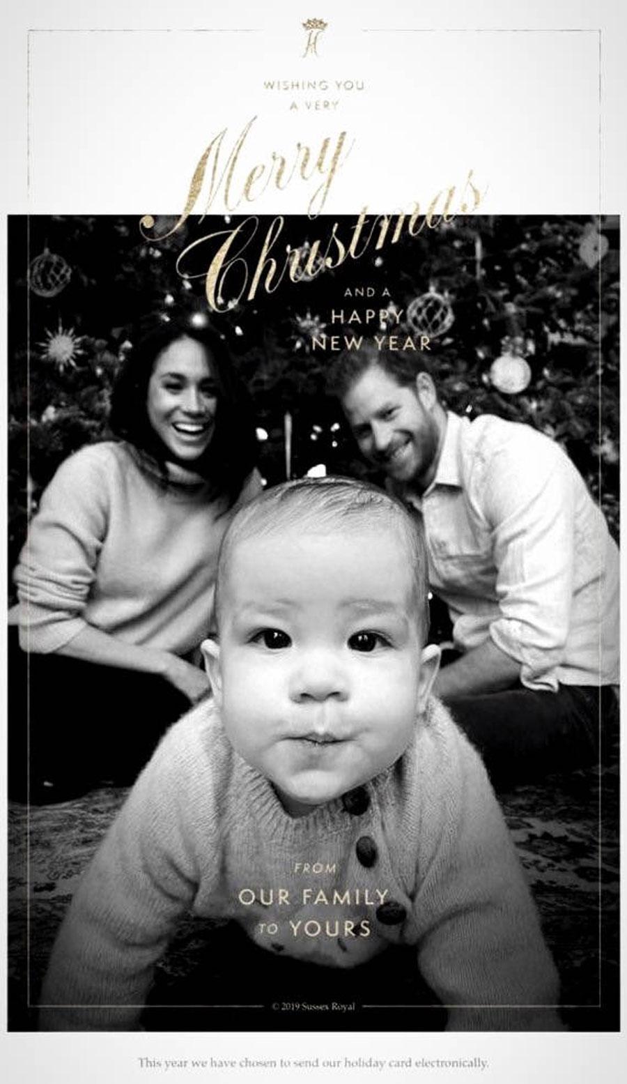 Prince Harry and Meghan Markle's Christmas Card Will Melt Your Heart