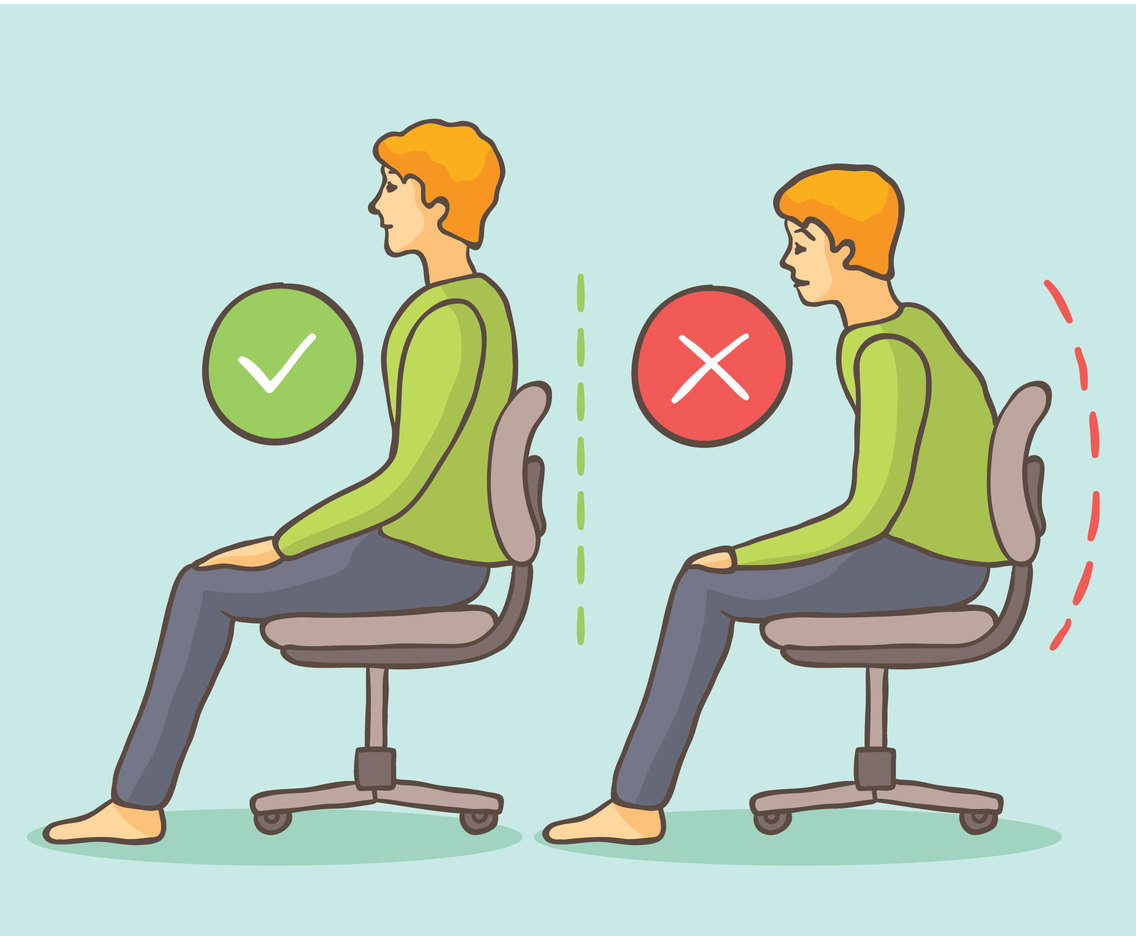 Here Is What A Good Posture Does To Your Health
