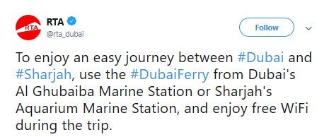 Dubai Ferry: Here's How You Can Avoid Traffic When Travelling To Sharjah