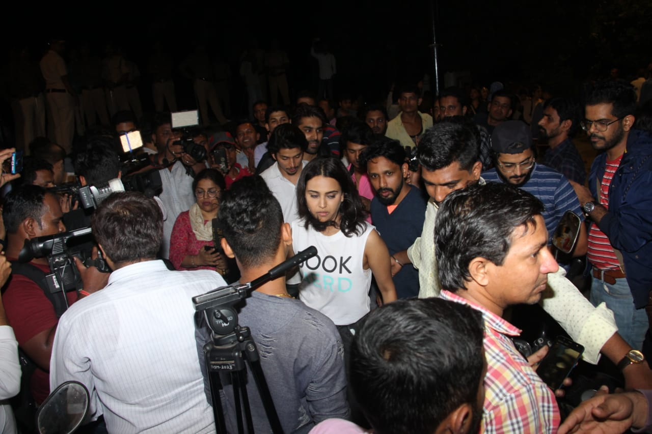 Celebs at JNU Protests