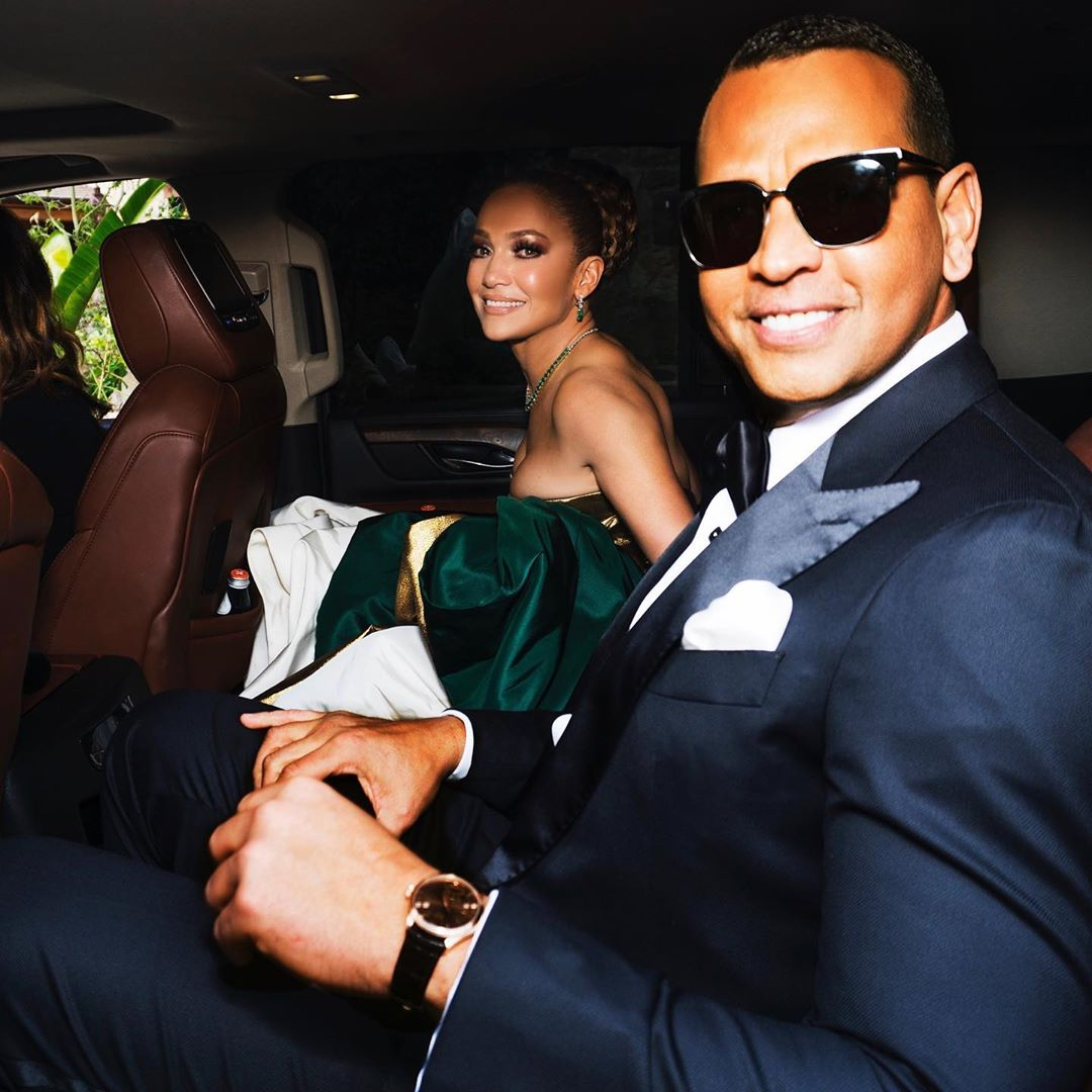 JLo attended the Golden Globe Awards 2020 with fiancé, Alex Rodriguez