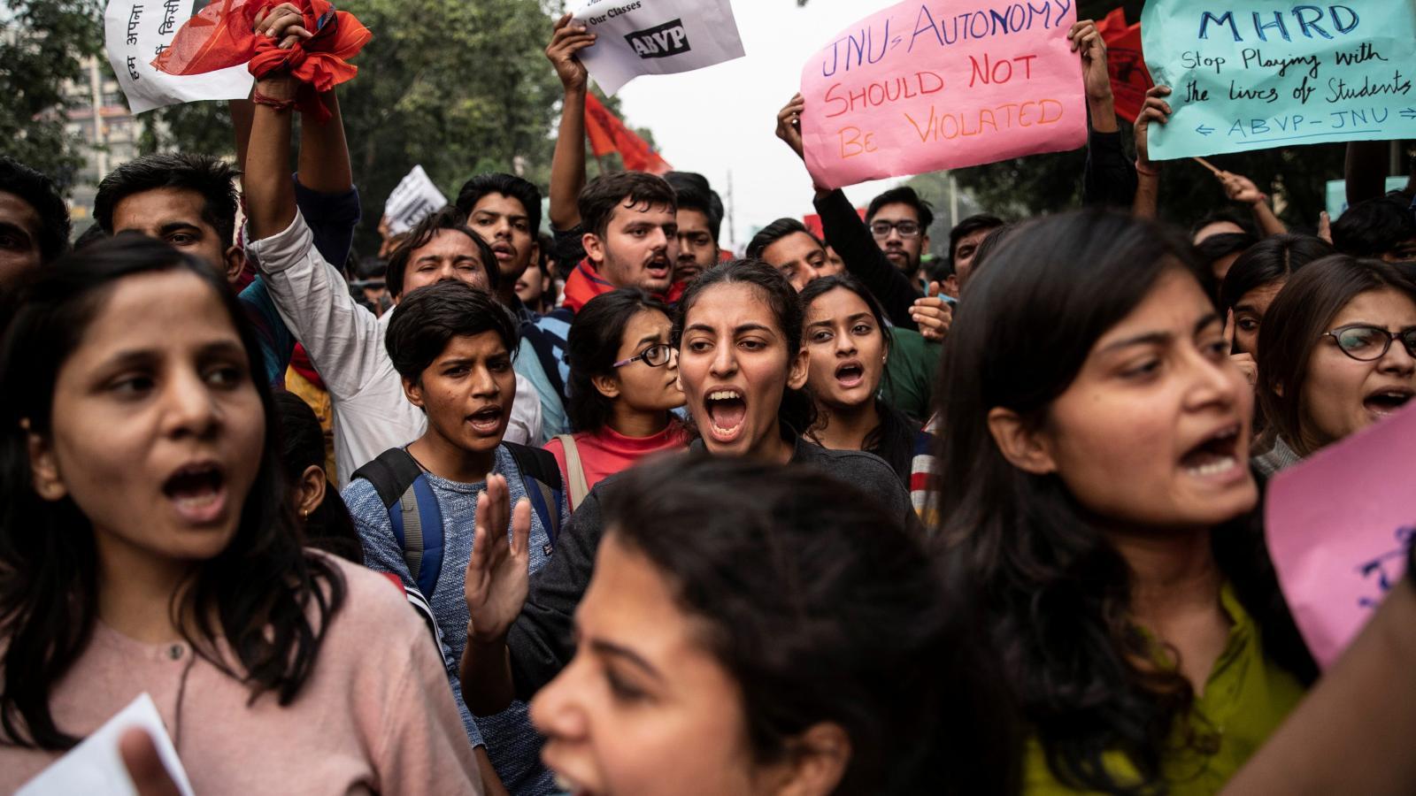 JNU Protests