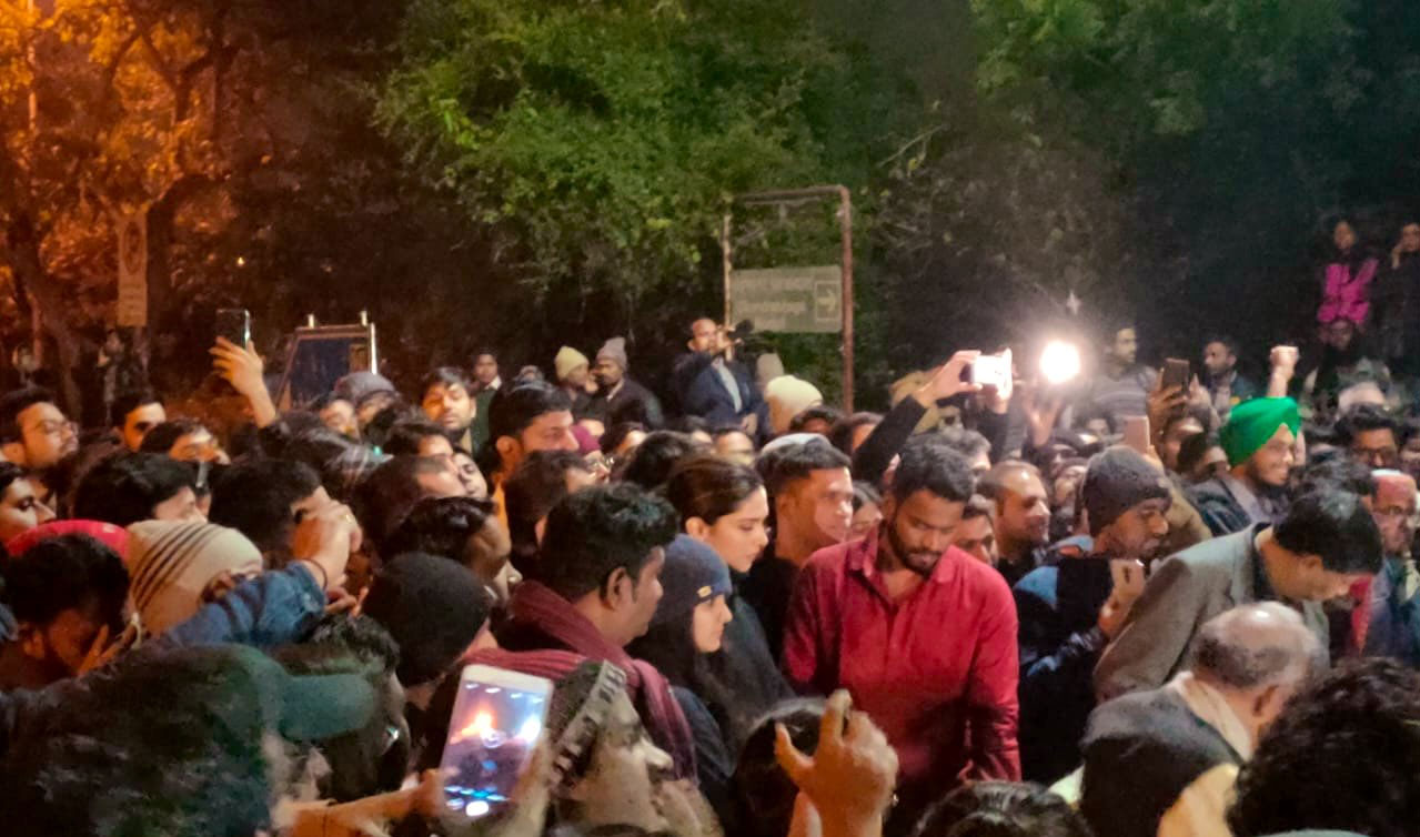 Deepika Padukone joined JNU Protests