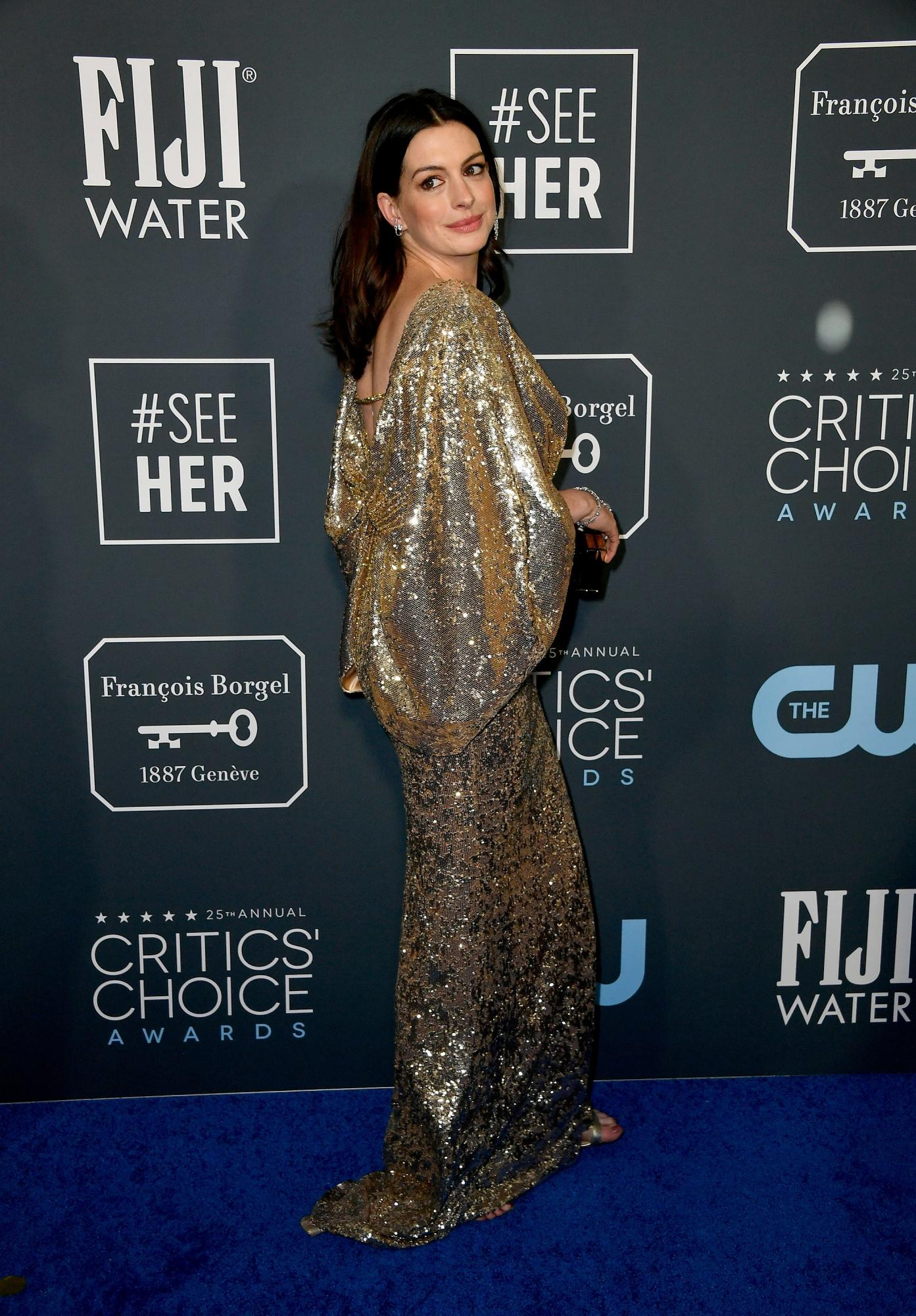 Anne Hathaway for Critics Choice Awards