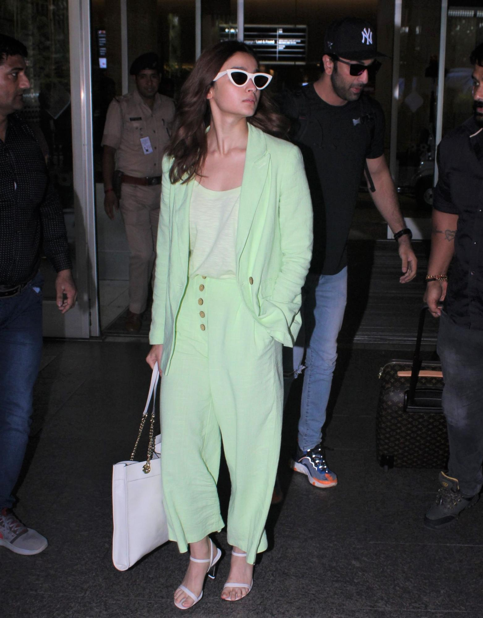 Alia Bhatt spotted at the airport recently