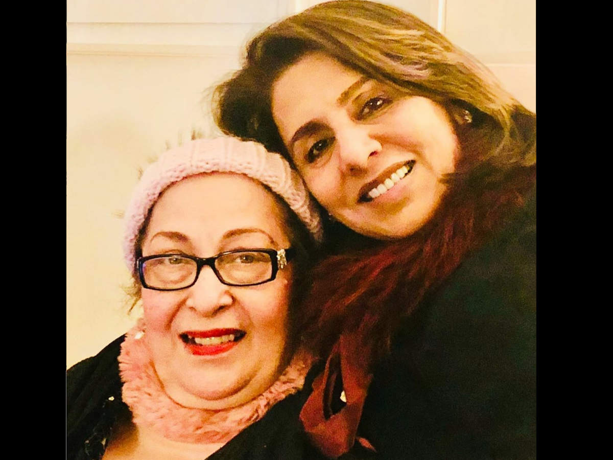 Neetu Singh with Ritu Nanda