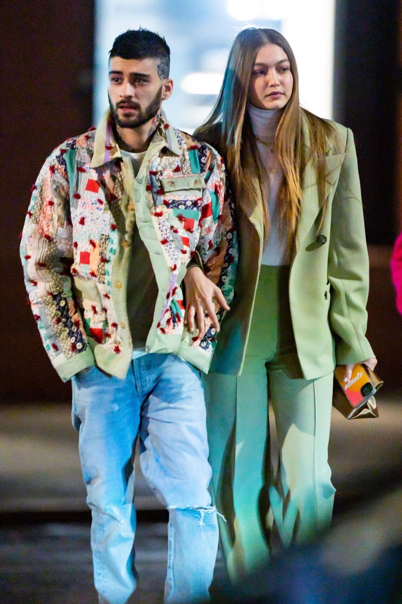 Zayn Malik and Gigi Hadid out and about