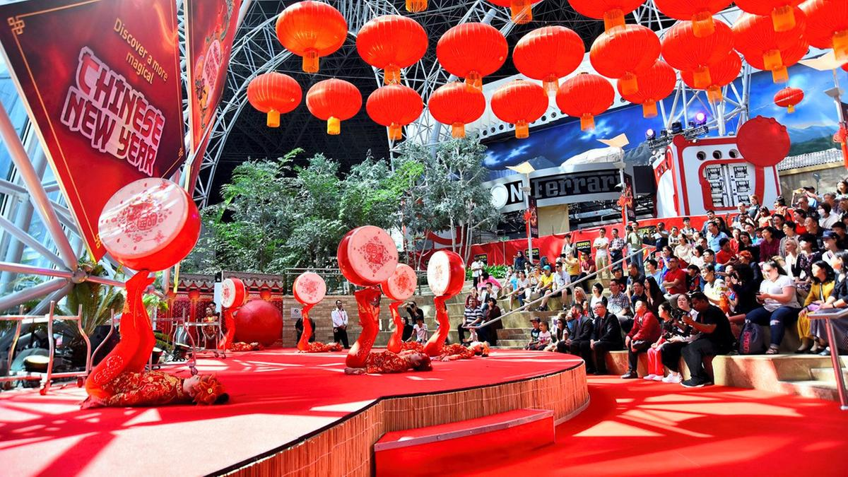Chinese New Years in the UAE