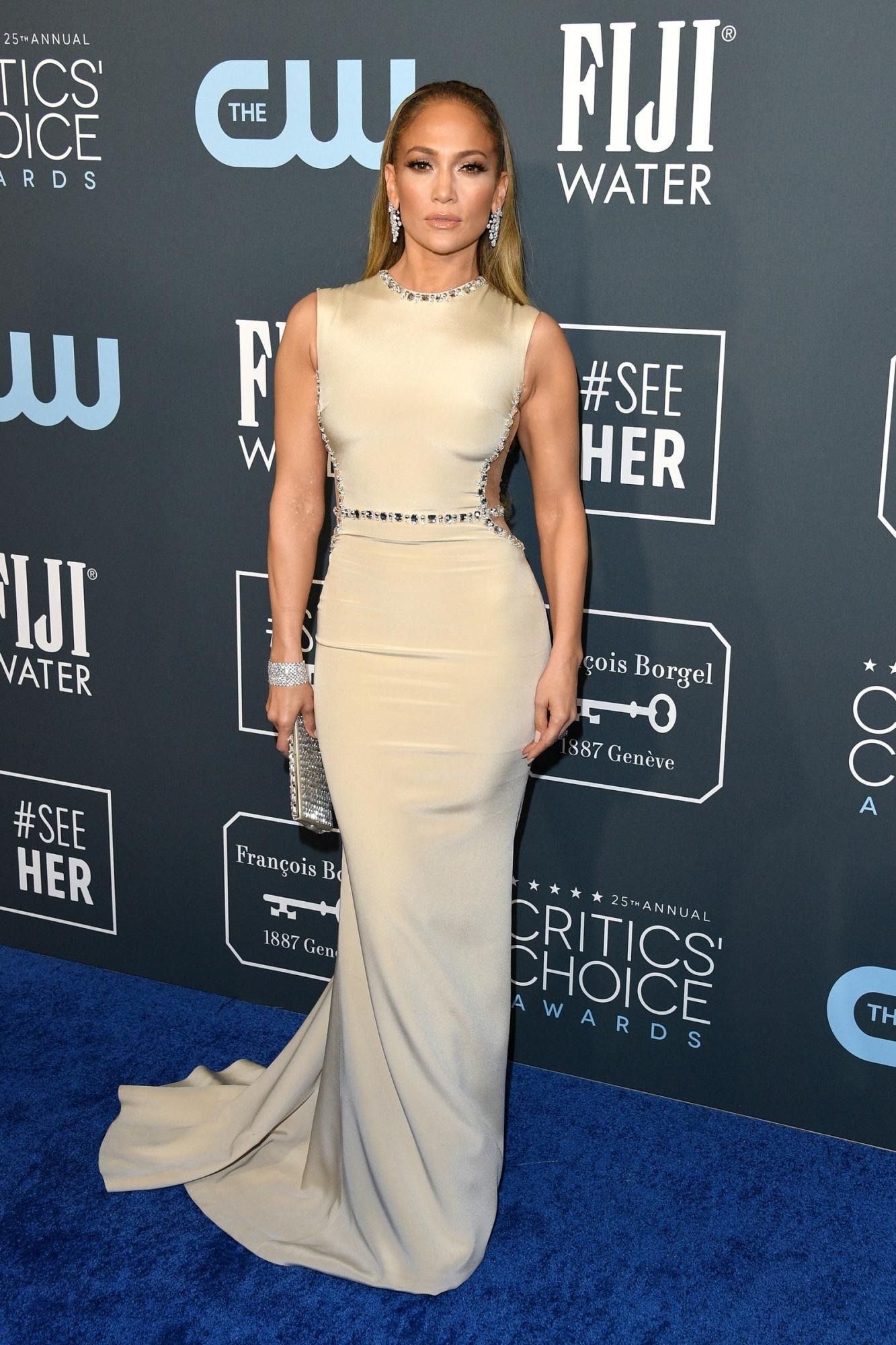 Jennifer Lopez at the Critics' Choice Awards