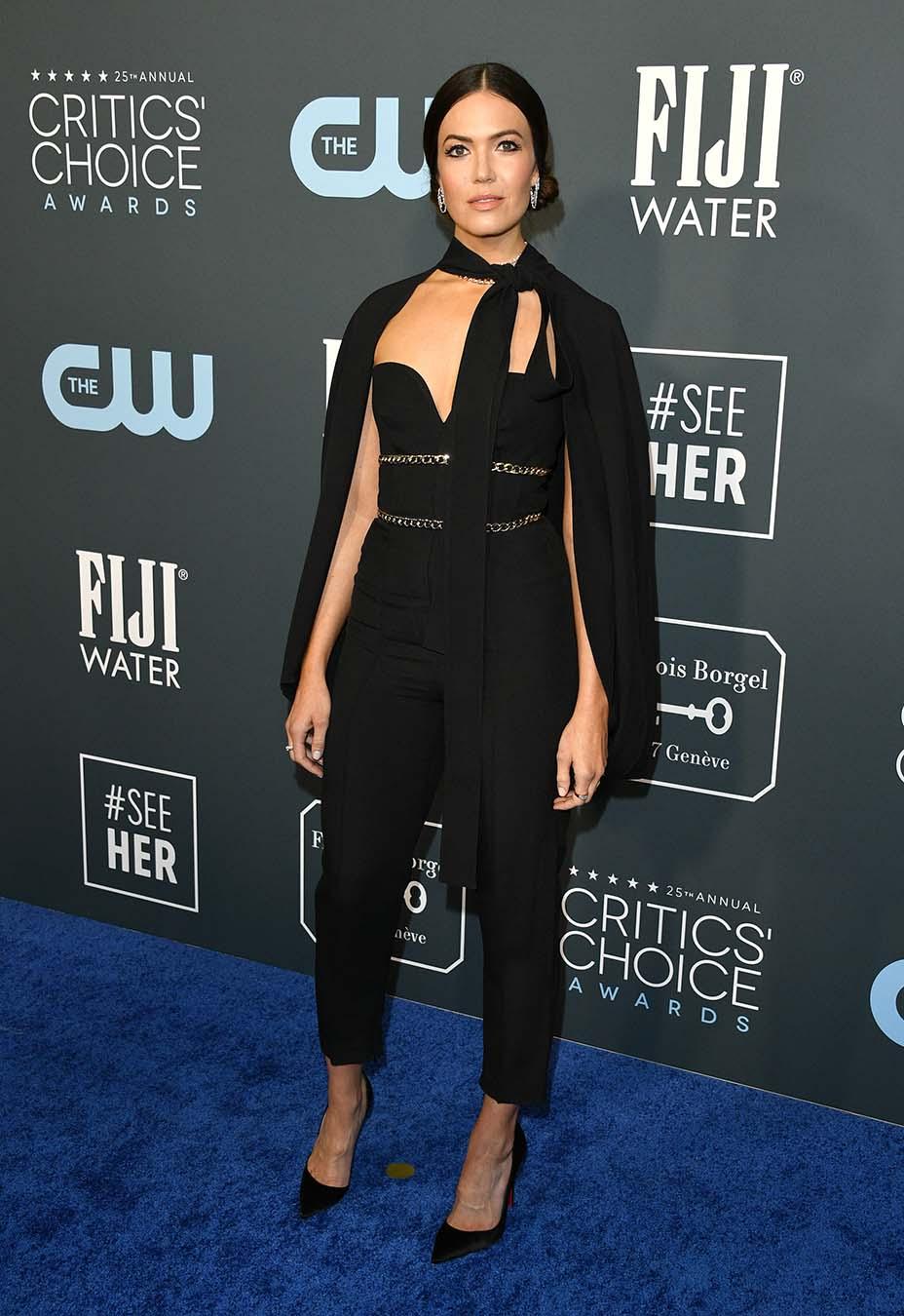 Mandy Moore at the Critics' Choice Awards