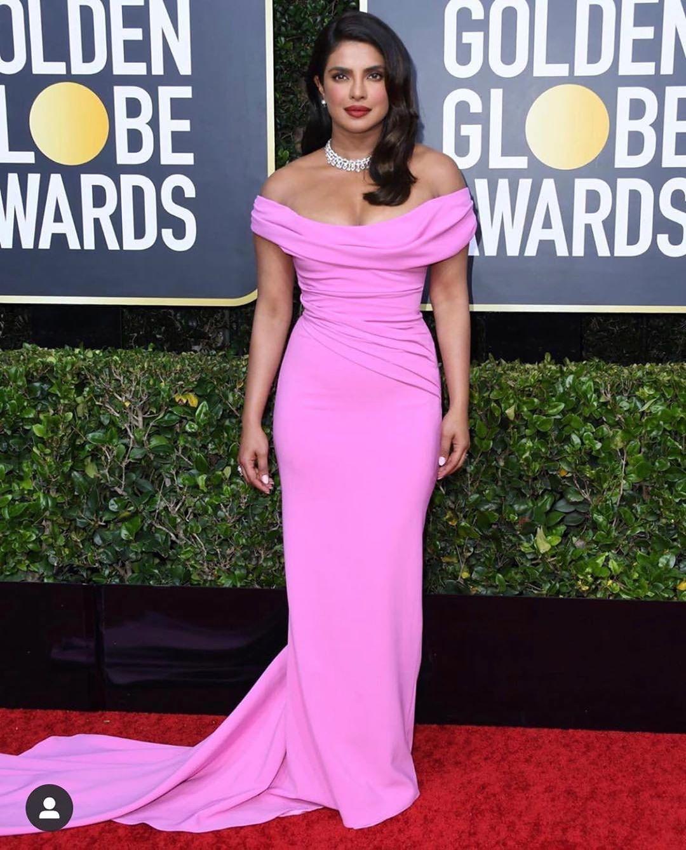 Priyanka Chopra at the Golden Globe Awards
