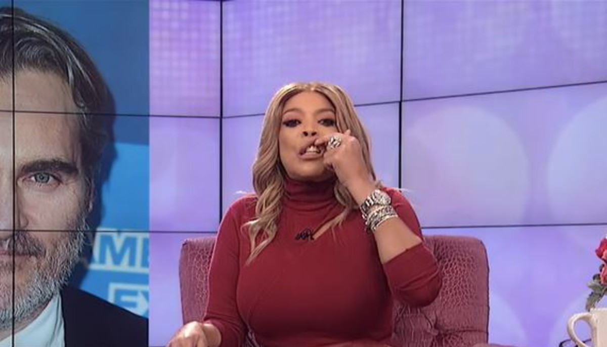 Wendy Williams made fun of Joaquin Phoenix's cleft scar on a recent episode of her talk show