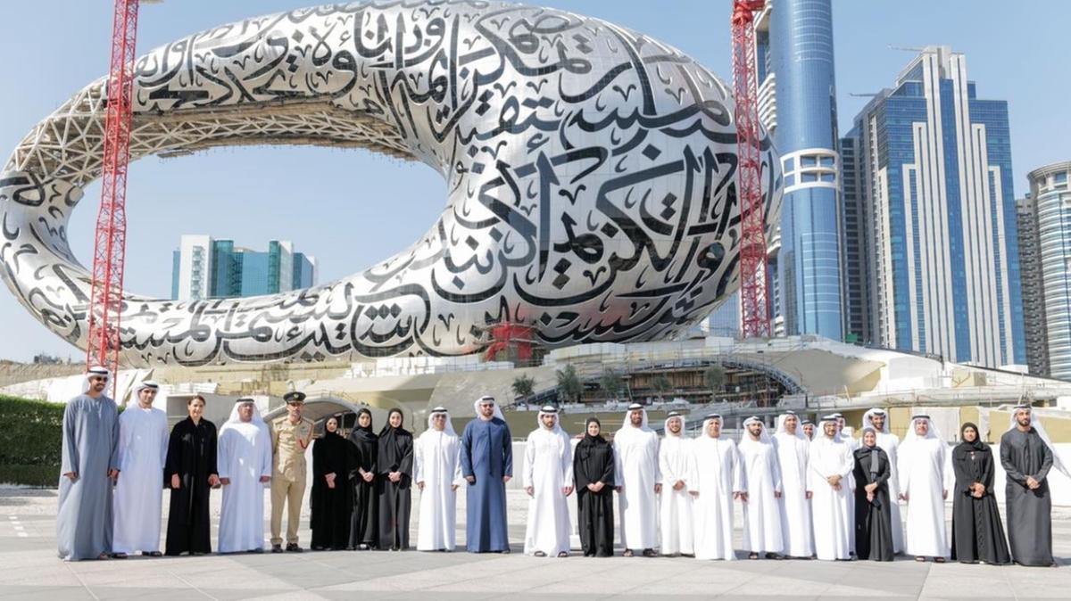 Watch: Sheikh Hamdan Tours Dubai's Museum of the Future, Approves Three-Year Strategic Plan for DFF - Masala.com