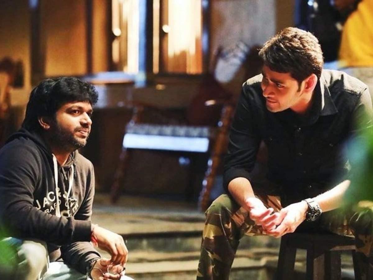 Director Anil Ravipudi and actor Mahesh Babu on the sets of Sarileru Neekevvaru