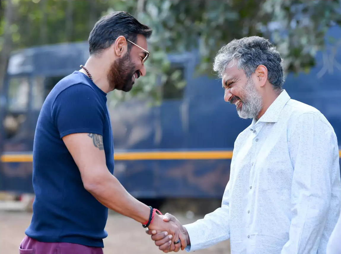 Ajay Devgn kick-starts the schedule of SS Rajamouli's next project RRR