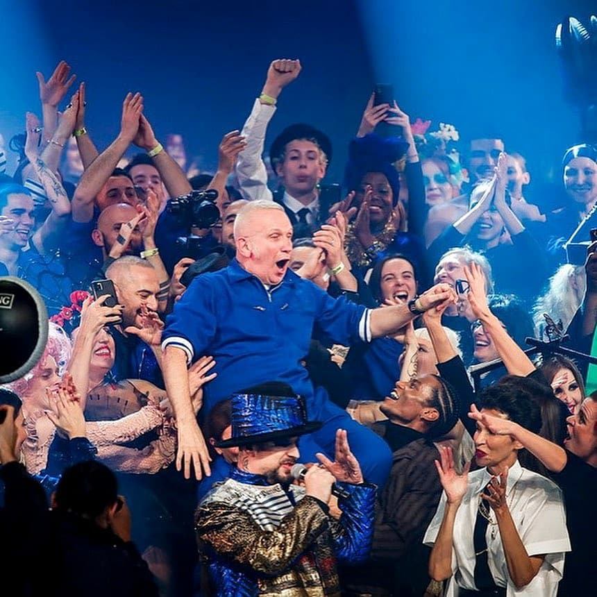 Jean Paul Gaultier Leaves a Mark as He Bows Out with Final Show in Paris