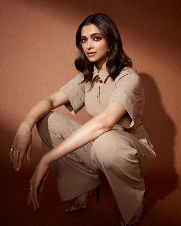 Fashion face-off: Deepika Padukone, Katrina Kaif Slay in a Camel-coloured Jumpsuit