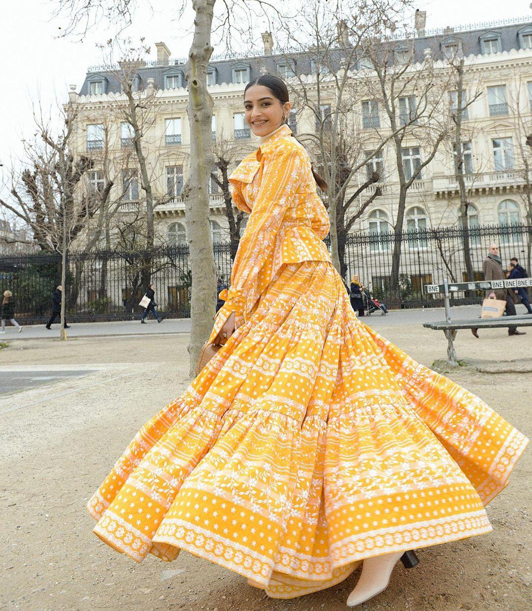 Sonam Kapoor Brightening our Day in Sunshine Yellow