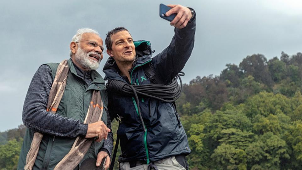 Bear Gryll and PM Modi
