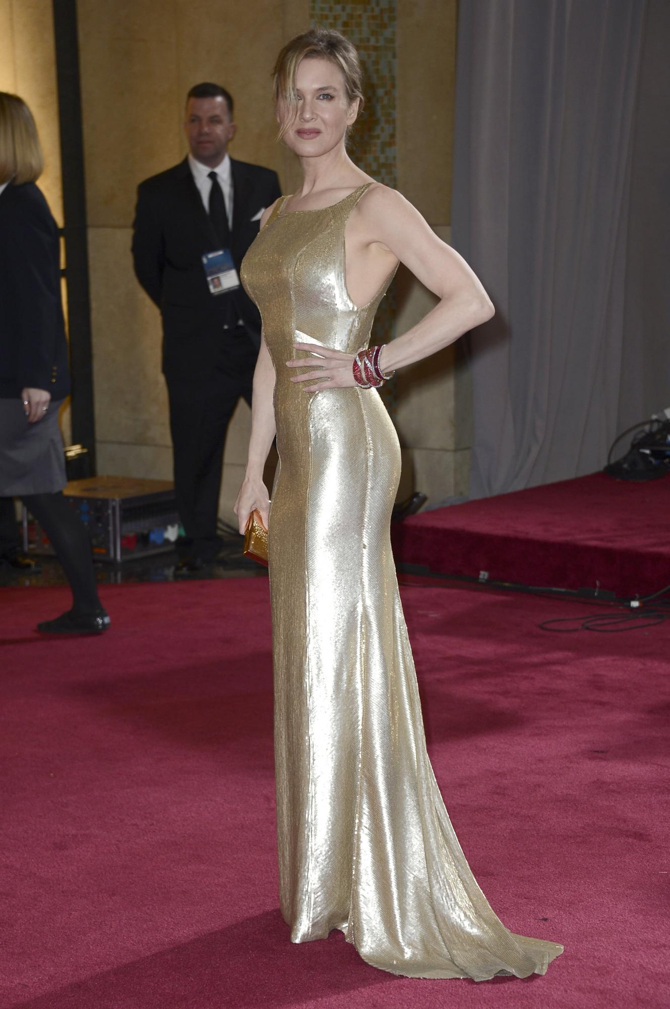 Renee Zellweger and a Look Back on Her Red Carpet Looks - Ma