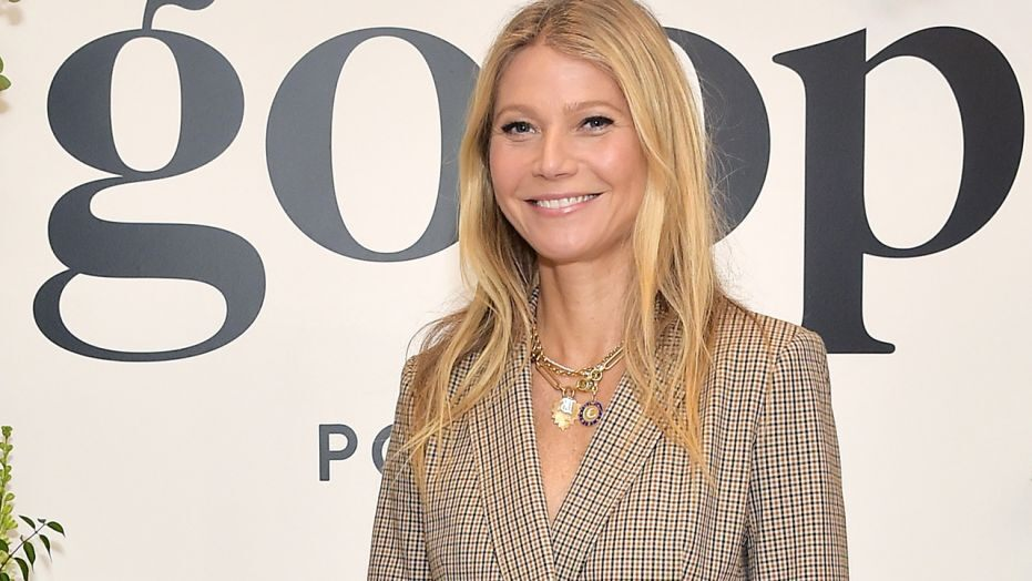 Gwenyth Paltrow talking about Goop