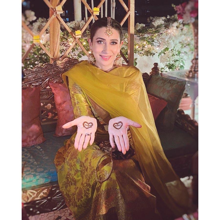Armaan Jain's Wedding: Karisma Kapoor Serves Desi Wedding Style Inspo in Two Looks