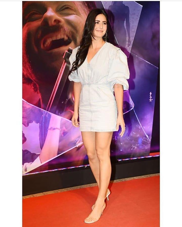 Katrina Kaif is Taking our Blues Away in this Mini Dress