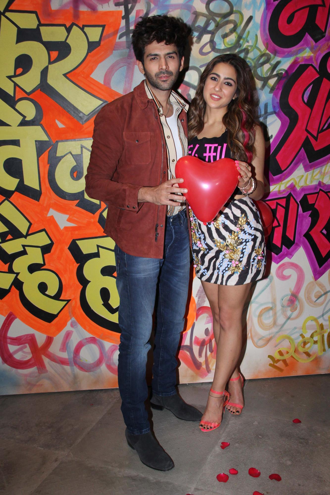 Kartik Aaryan and Sara Ali Khan