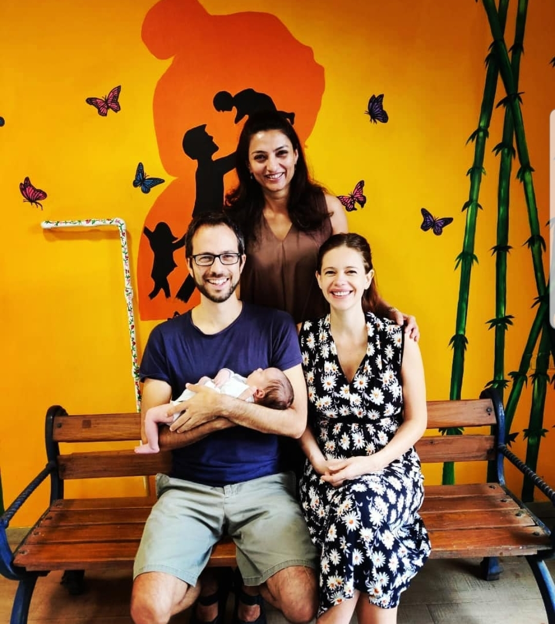 Kalki Koechlin and boyfriend Guy Hershberg were blessed with a baby daughter named Sappho