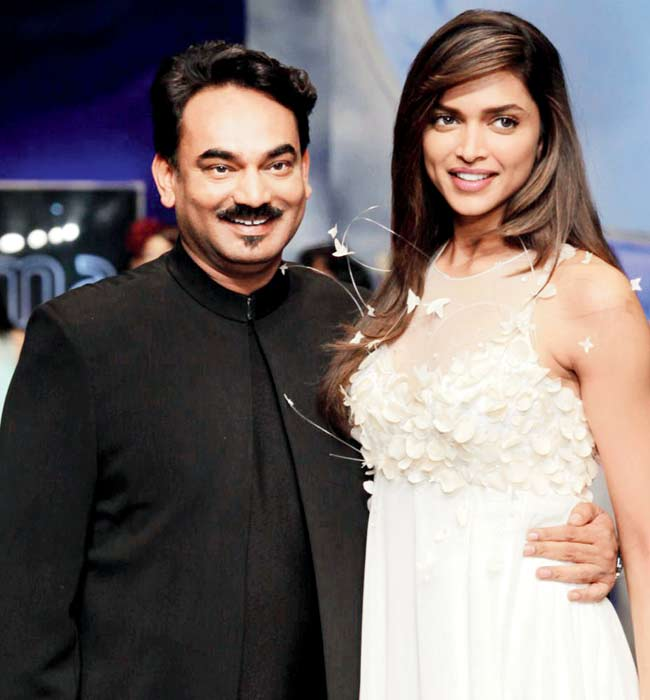 Deepika Padukone turned showstopper for Wendell Rodricks