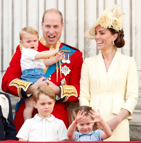 Prince Louis is Kate Middleton's youngest son