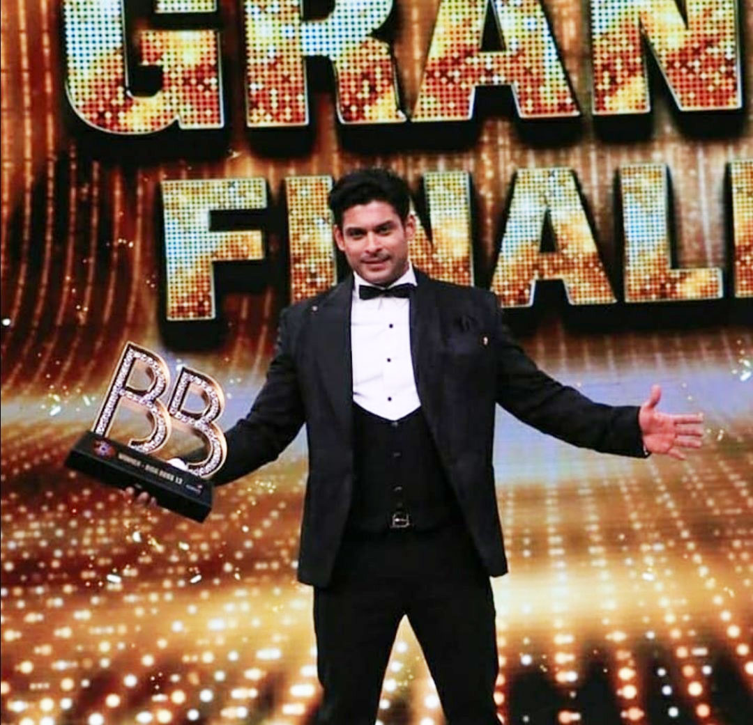 Sidharth Shukla at Bigg Boss Season 13 grand finale