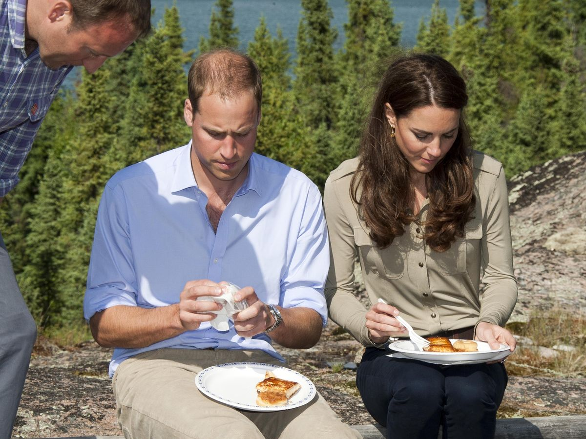 Kate Middleton and Prince William enjoy breakfast in Canada