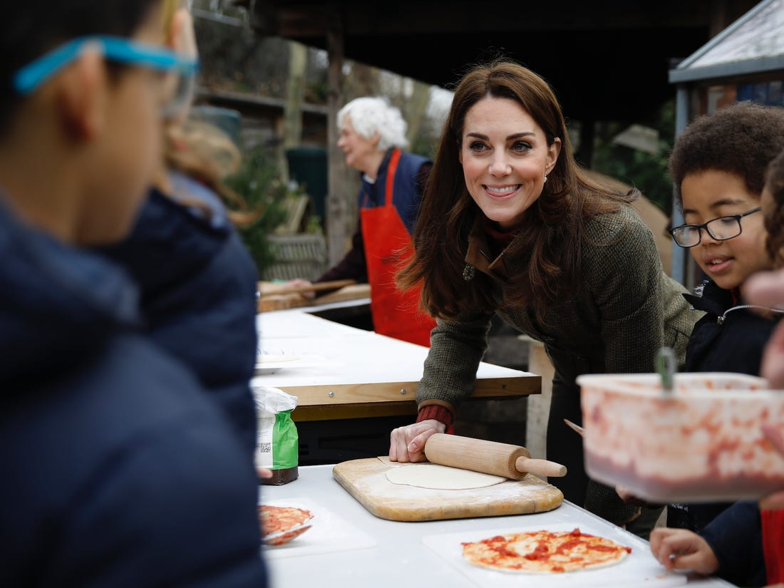 Kate Middleton is a great cook herself