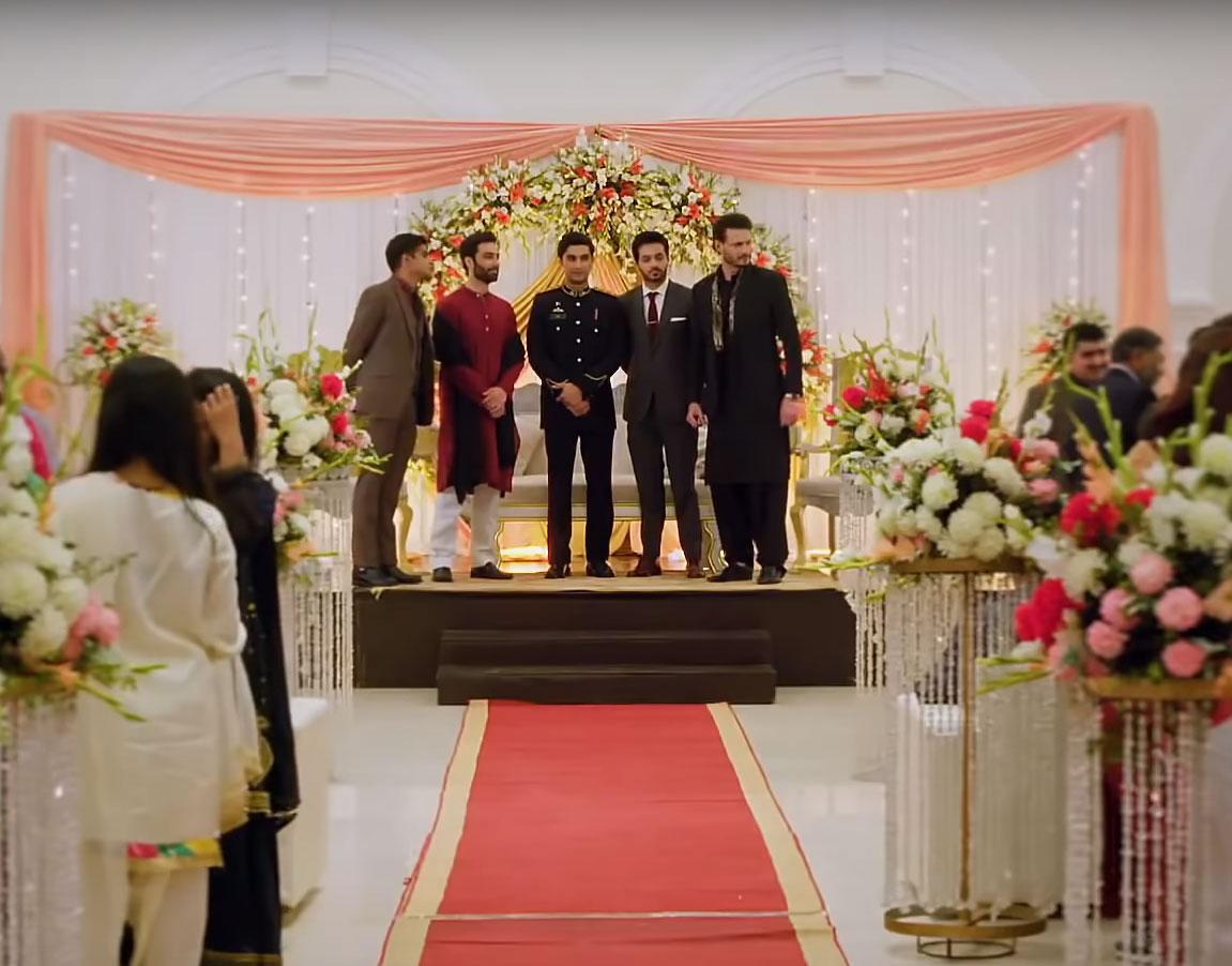 SSG reunites at Saad and Dua's wedding