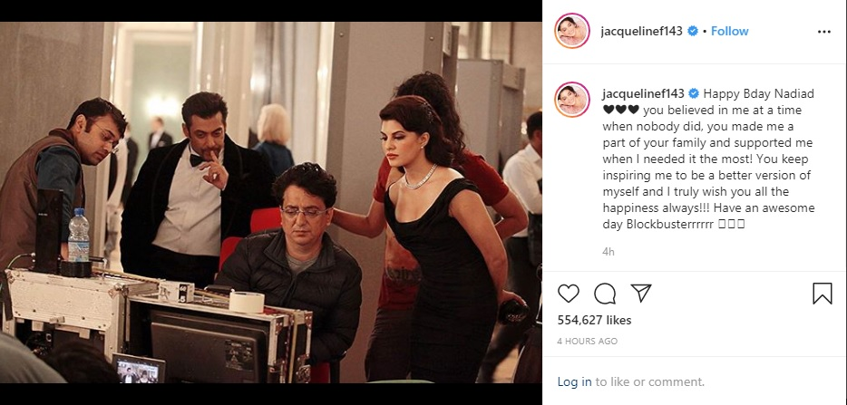 Kriti Sanon, Jacqueline Fernandez Wish Their 'Mentor' in Heartwarming Posts