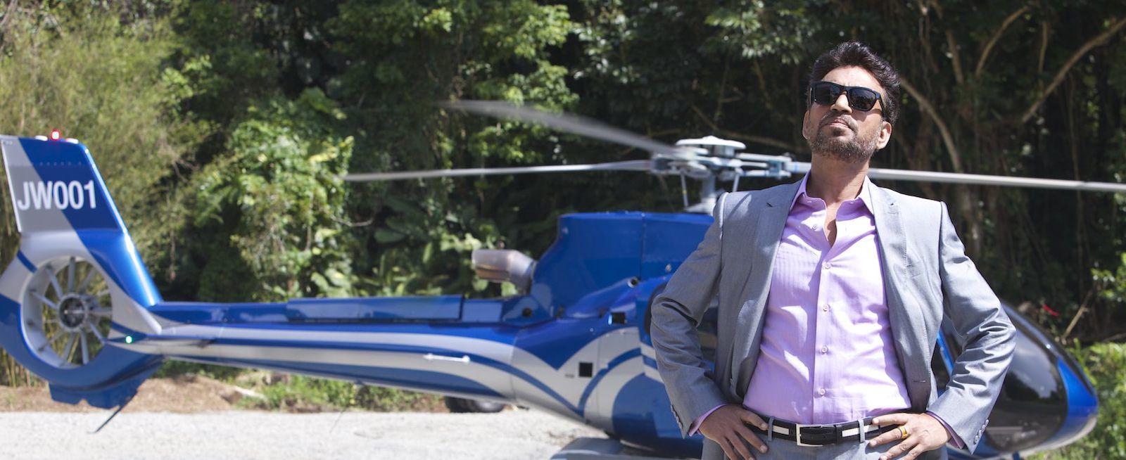 Irrfan Khan in Jurassic Park