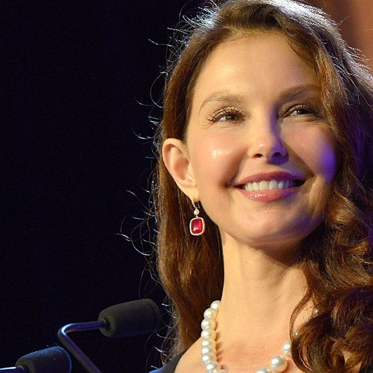 Ashley Judd is famous for her global humanitarian work and politics