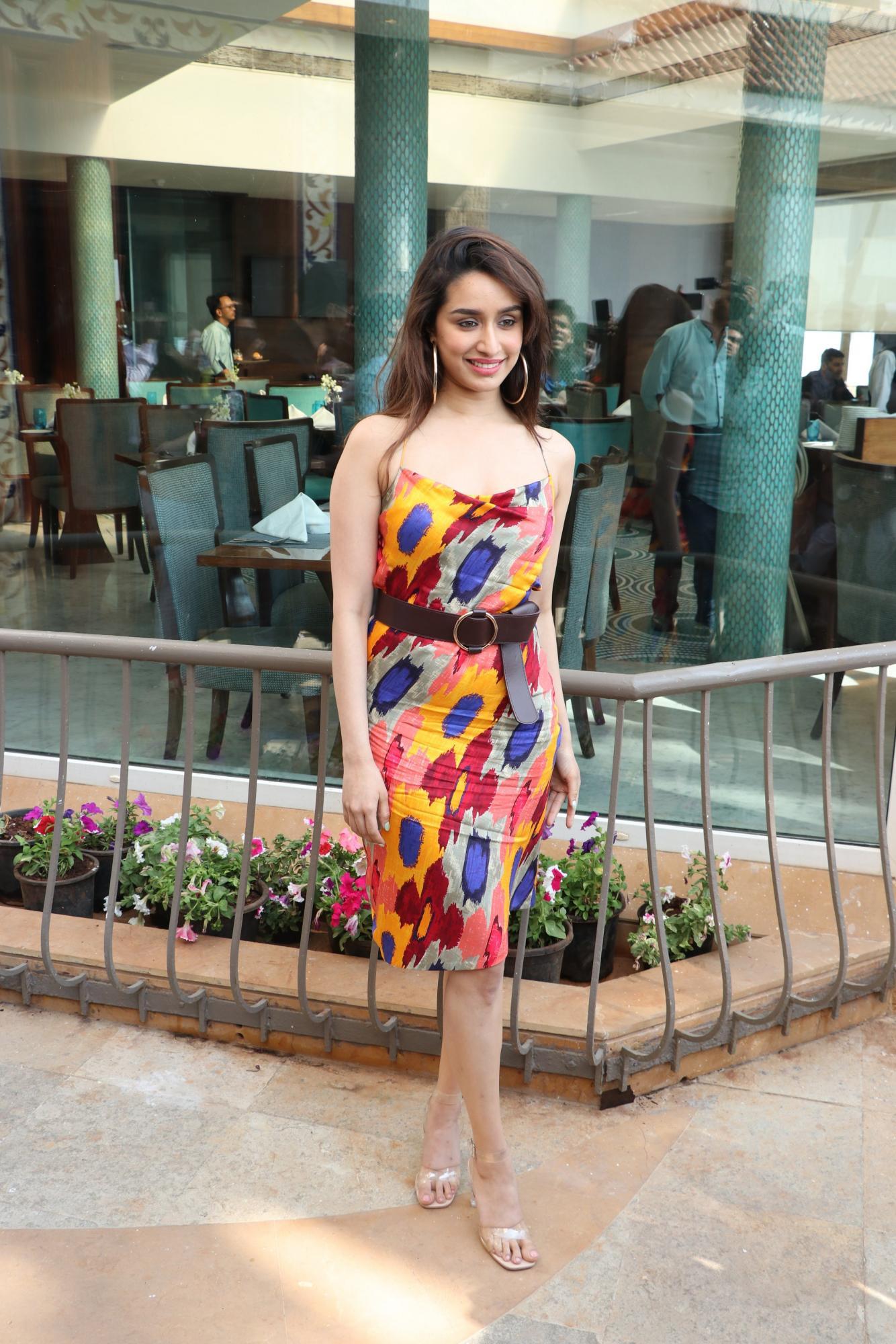 Shraddha Kapoor in Dubai promoting Baaghi 3