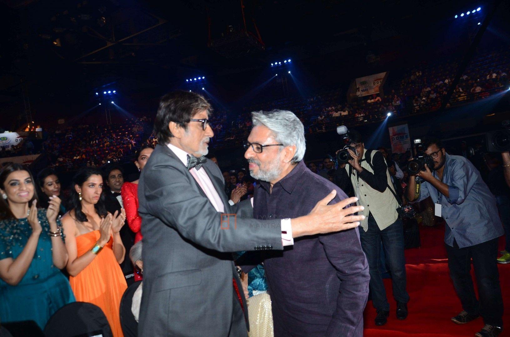 Amitabh Bachchan and Sanjay Leela Bhansali
