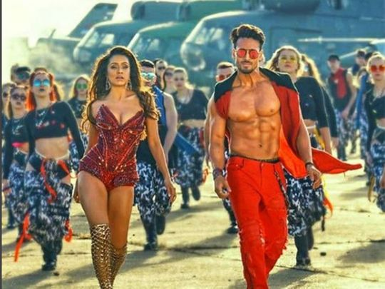 Snippet of Tiger Shroff and Shraddha Kapoor from Baaghi 3